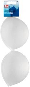 Bra Cups for Lingerie in White