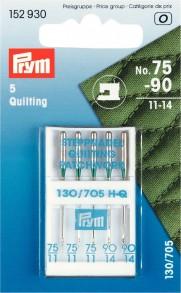 Prym Quilting Machine Needles, No. 75-90