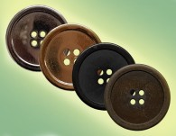 4-HOLE METAL BUTTON