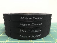 Made In England Neck Labels