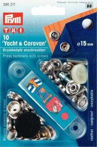 Prym 'Yacht & Caravan' Press fasteners with screws
