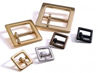Square Metal Prong Buckle