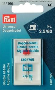 Prym Double Machine Needle, No. 80