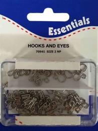 Hooks And Eyes Size 2