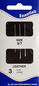 3 Leather Needles