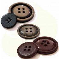 4-Hole Coat Button