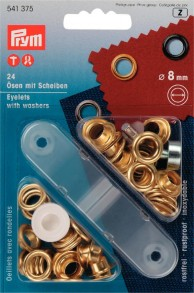24 Eyelets with Washers with tool