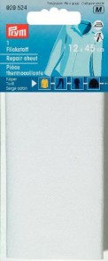 Prym Twill/Cotton Repair Sheet - White
