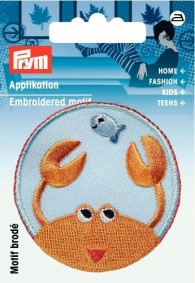 Prym Embroidered Lobster Motif