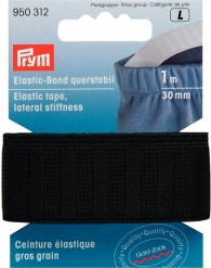 Prym Elastic Tape, Lateral Stiffness 1m of 30mm