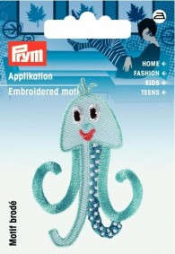 Prym Embroidered Octopus Motif