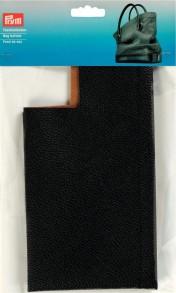 Prym Leatherette Bag Bottom Black