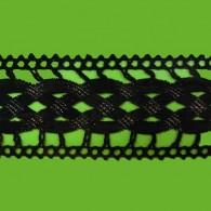 50mm Crochet Lurex Braid