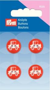 Prym 2-Hole Kids Car Buttons