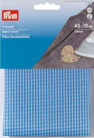 Prym Cotton Repair Sheet - Blue