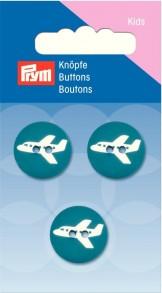 Prym 2-Hole Kids Aircraft Buttons