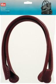 Prym Leatherette Bag Handles Brown