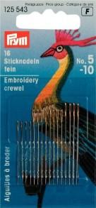 Prym Embroidery Crewel Needles