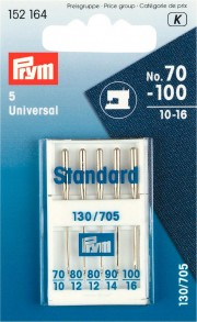 Prym Standard Machine Needles, No. 70-100