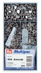 Prym 100 'Anorak' Multipack Press Fasteners