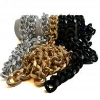 Chunky Metal Curb Chain