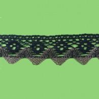 35mm Crochet Lurex Braid