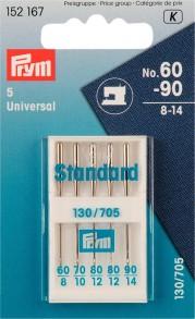 Prym Standard Machine Needles, No. 60-90
