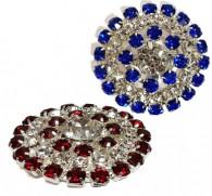 Diamante Shank Button