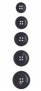 4-Hole Real Horn Buttons