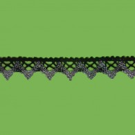19mm Crochet Lurex Lace