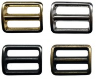 Rectangle Metal Slider Buckles