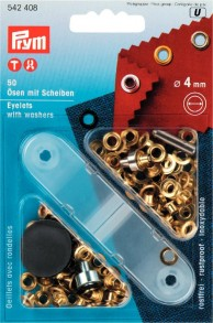 50 Eyelets with Washers with tool