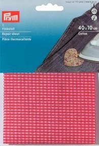 Prym Cotton Repair Sheet - Red