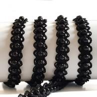 10mm Beaded Elastic Braid Trim