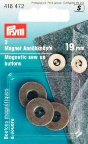 Prym Magnetic Sew On Buttons