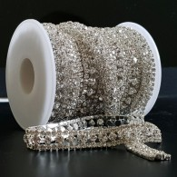 10mm Diamante Crystal Trim