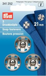Prym 21mm Snap fasteners