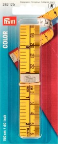 Prym 150cm/60inch Colour Measuring Tape