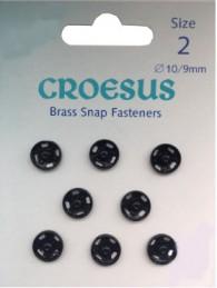 Brass Snap Size 2