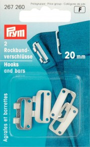 Prym 20mm Hooks and Bars
