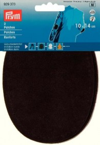 Prym Oval Imitation Suede Patches