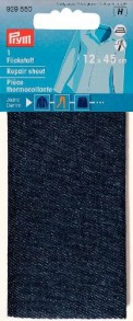 Prym Jeans Denim Repair Sheet - Dark Blue
