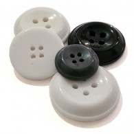 4-Hole Chunky Coat Button