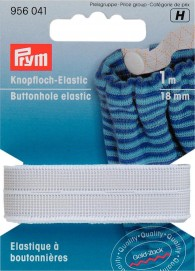 Prym Buttonhole Elastic 1m of 18mm